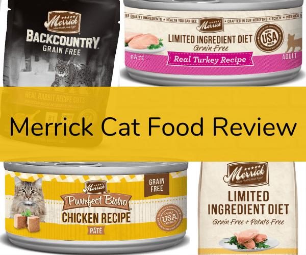 Merrick Cat Food Review